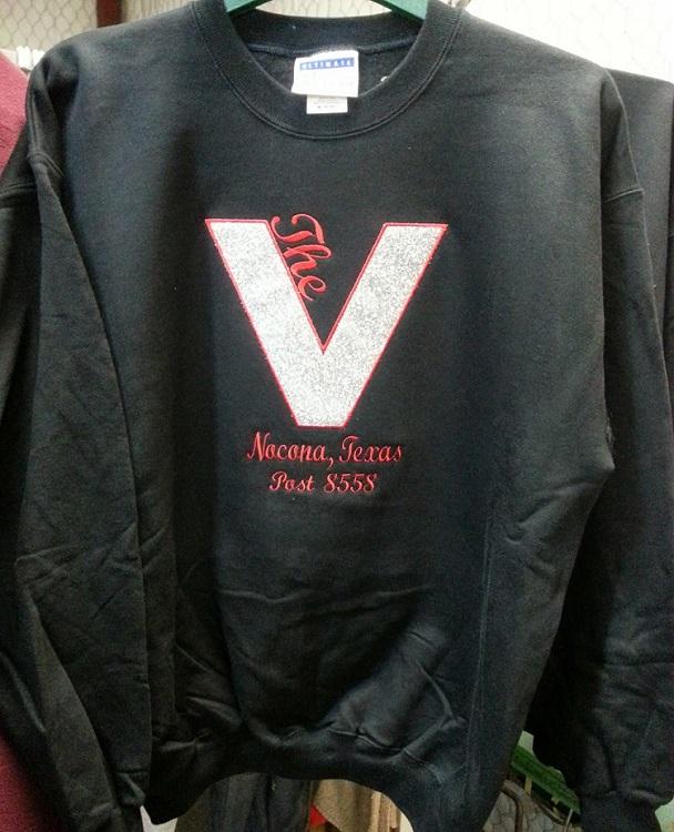 The V Embriodery