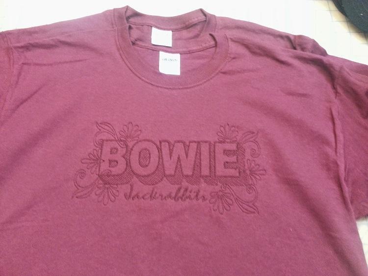 Bowie Jackrabbits Embriodery