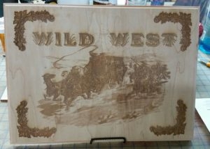 Wild West Laser Engrave