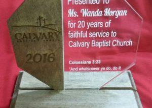 Award Laser Engrave