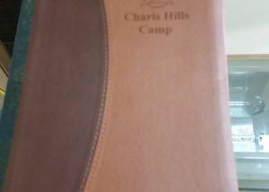 Charis Hills Camp Laser Engrave
