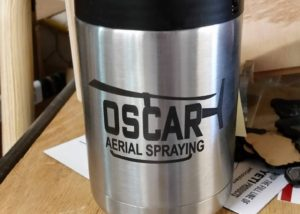 Oscar Aerial Spraying Yeti Can