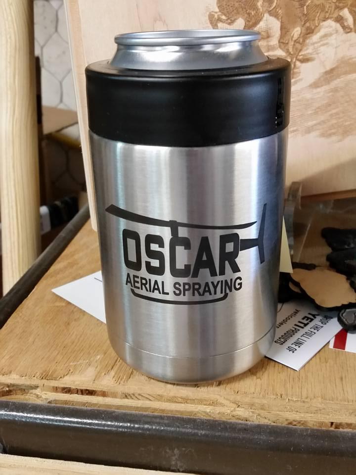 Oscar Aerial Spraying Yeti Can