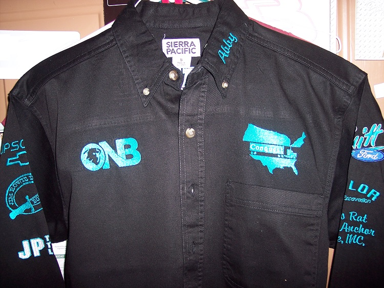 Abby Rodeo Shirt Embriodery