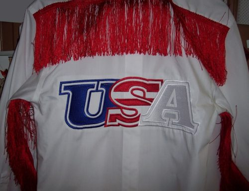 USA Shirt Embriodery