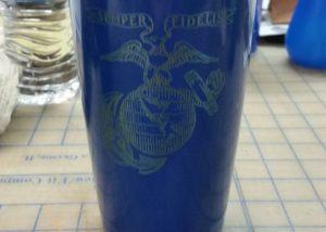 Semper Fidelis Blue Yeti Cup