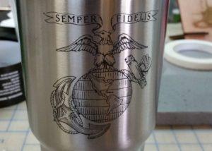 Semper Fidelis Yeti Cup