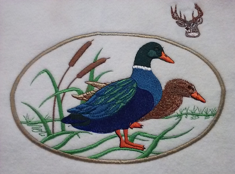 Duck Embriodery